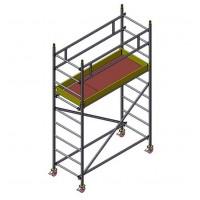Вышка-тура модульная алюминевая  BMA 700-4 l MEGAL