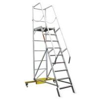 лестница с платформой ЛСПК-1,4 l MEGAL