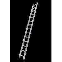 Лестница алюминиевая 14 ступеней Алюмет 6114 серия HS1