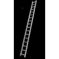 Лестница алюминиевая 17 ступеней Алюмет 6117 серия HS1