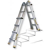Телескопическая лестница Centaure типа TT 410844 4x4 ступени