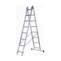 Универсальная двухсекционная лестница типа WT2 10 ступеней