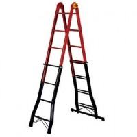 Профессиональная телескопическая лестница-стремянка B45 FS 4x5 ступеней