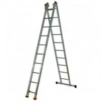 Профессиональная двухсекционная лестница Centaure типа AT2 10 ступеней 420210