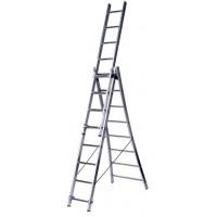 Трехсекционная бытовая лестница Centaure 263308 типа BT3 3x8 ступеней