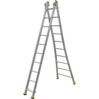Профессиональная двухсекционная лестница Centaure типа T2 7 ступеней 410207