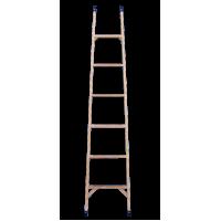 Стеклопластиковая приставная лестница серии ЛСП 11 ступеней