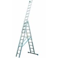 Трехсекционная лестница Krause 123930/133755 с доп. функцией серии Stabilo 3x9 ступеней