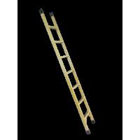 Стеклопластиковая приставная лестница серии ЛСП-Т 7 ступеней
