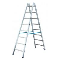 Двустороння лестница-стремянка Krause Stabilo 2x6 ступеней 124906