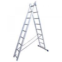 Лестница LWI206 двухсекционная 6 ступеней
