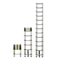 Лестница алюминиевая телескопическая приставная 10 ступеней.